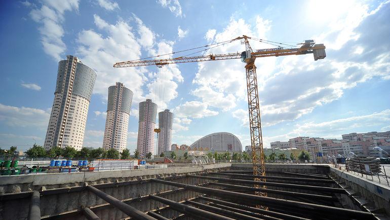 1 августа 2012 года. Общий вид стройплощадки. Фото Строительный мир