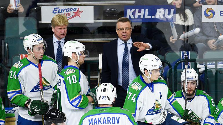 Игорь ЗАХАРКИН и его команда. Фото photo.khl.ru