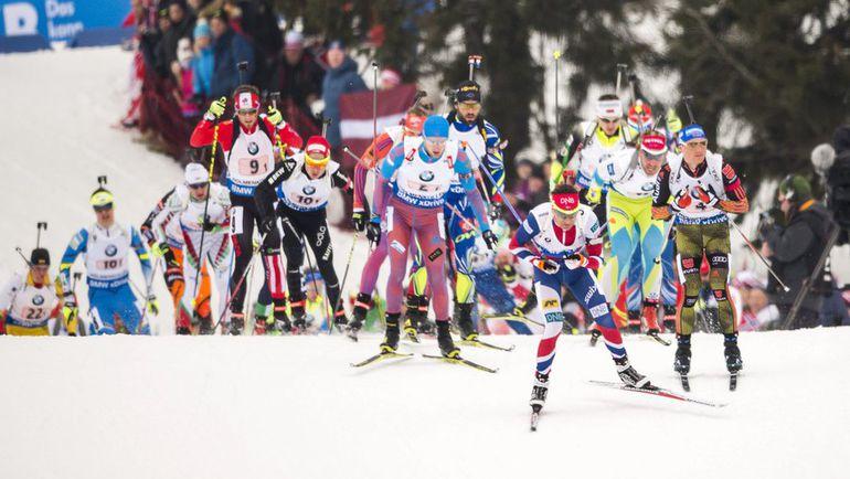 Сегодня. Холменколлен. Мужская эстафета на чемпионате мира: Россия опять без медалей. Фото Reuters