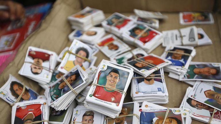 Коллекционные наклейки Panini - мечта нескольких поколений футбольных болельщиков. Фото Reuters