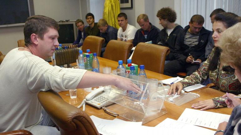 Жеребьевка ТДК - сегодня! Фото Федор УСПЕНСКИЙ, «СЭ»