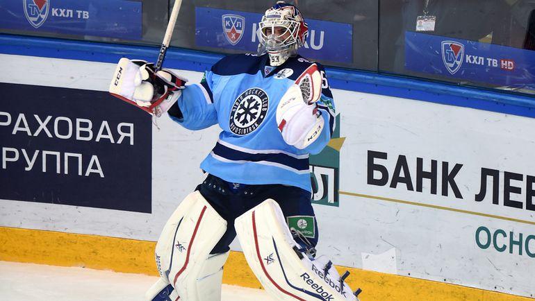 """Александр САЛАК подвел """"Сибирь"""". Фото Юрий Кузьмин, photo.khl.ru"""