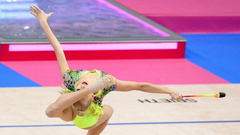Яна КУДРЯВЦЕВА на чемпионате мира в Штутгарте. Фото AFP