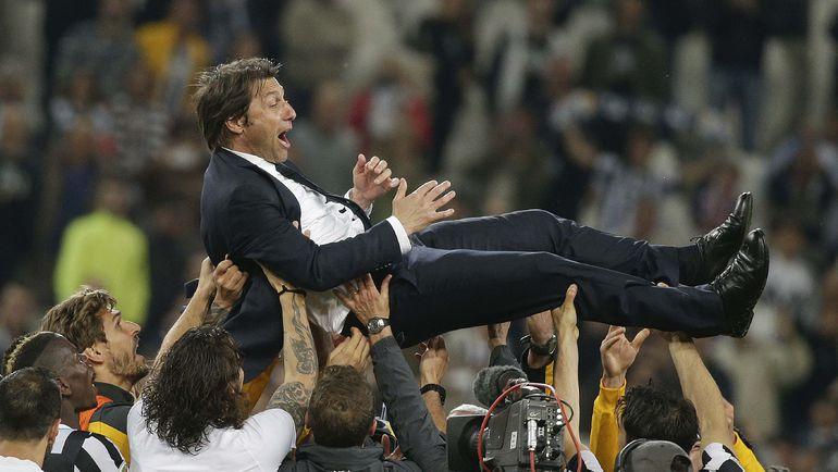 """Антонио КОНТЕ в """"Ювентусе"""" не знал равных в Италии. Фото Reuters"""