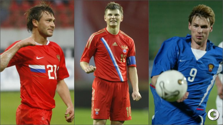 Дмитрий СЫЧЕВ, Андрей АРШАВИН и Егор ТИТОВ.