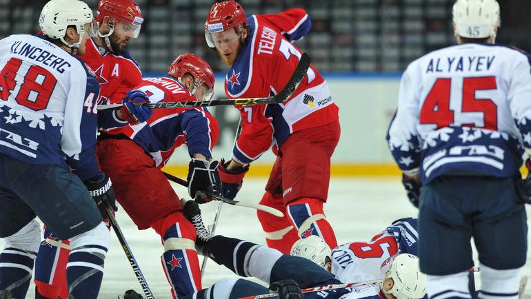 За две первых раунда Кубка Гагарина ЦСКА проиграл только один матч из девяти. Фото Алексей ИВАНОВ, «СЭ»