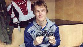 В январе Владислав НАМЕСТНИКОВ оформил первый хет-трик в своей карьере.