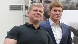 Май 2014 года. Москва. Андрей РЯБИНСКИЙ (слева) и Александр ПОВЕТКИН.