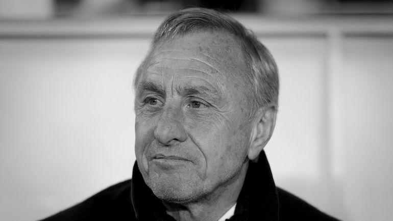 Легенда мирового футбола Йохан КРОЙФ. Фото AFP