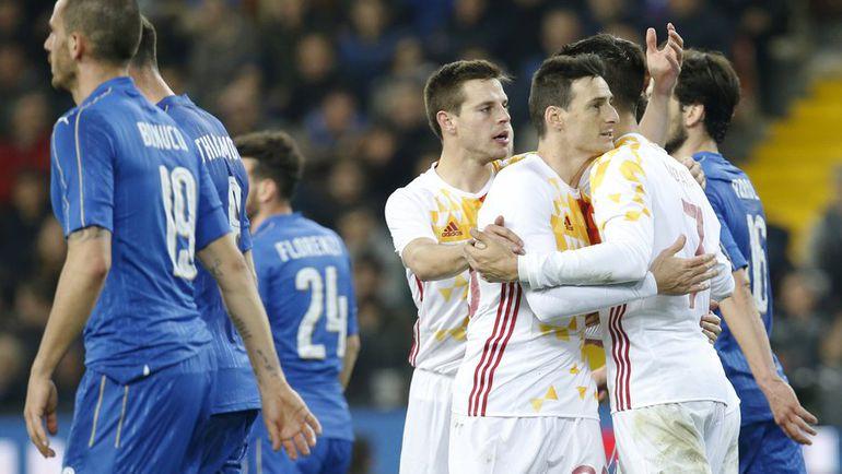 Четверг. Удине. Италия – Испания – 1:1.