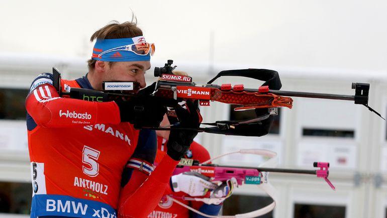Антон ШИПУЛИН и сборная России: все ждали другого. Фото AFP