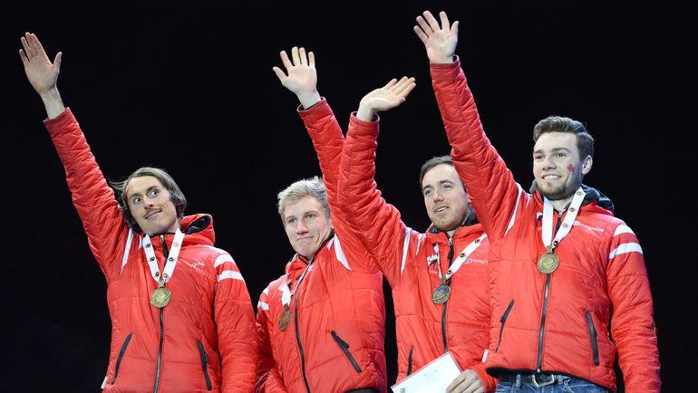 Канадская сборная - неожиданность года. Фото AFP