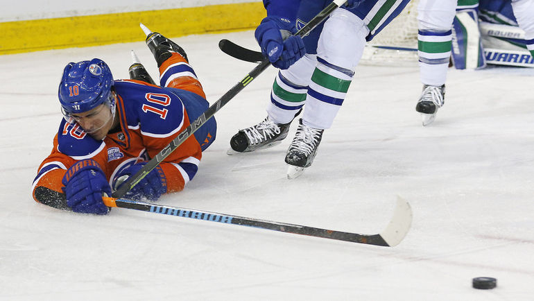 "Наиль ЯКУПОВ в ""Эдмонтоне"": все не так. Фото USA TODAY Sports"