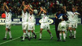 5 июня 1999 года. Сен-Дени. Франция - Россия - 2:3. Сборная России: победа!