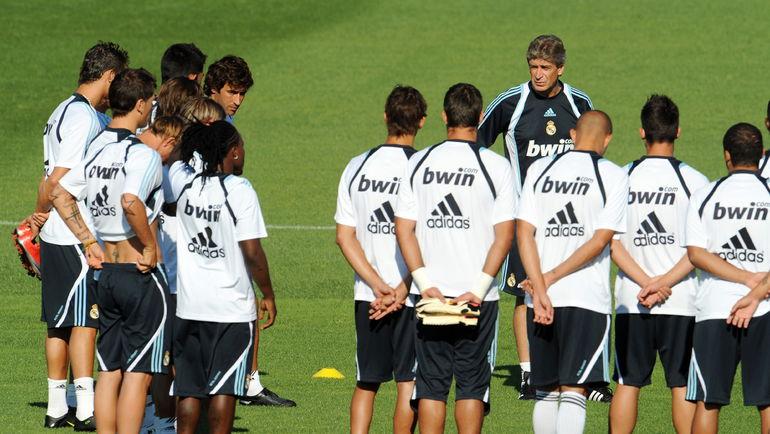 """В """"Реале"""" при Мануэле ПЕЛЛЕГРИНИ на новичков было потрачено 250 миллионов евро, при этом баланс в игре не появился. Фото AFP"""