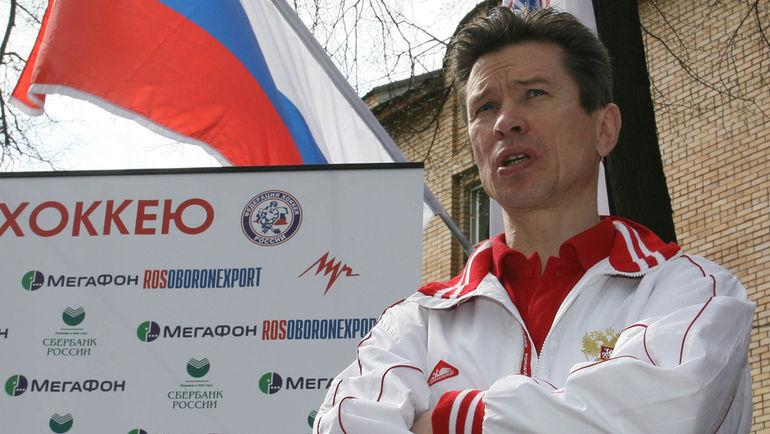 28 апреля 2007 года. Москва. Вячеслав БЫКОВ. Фото Александр ФЕДОРОВ, «СЭ»