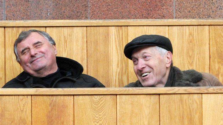 Владимир САЛЬКОВ (справа) и Анатолий БЫШОВЕЦ. Фото Татьяна ДОРОГУТИНА