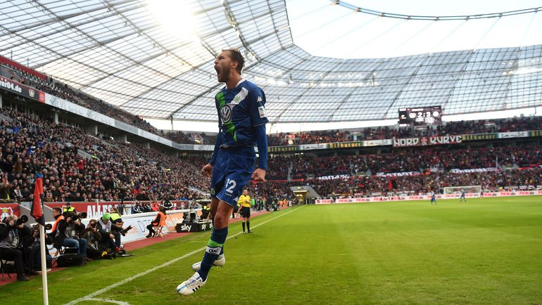 """В последнем матче на """"Бай Арене"""" """"Байер"""" и """"Вольфсбург"""" забили 9 голов на двоих. Фото AFP"""