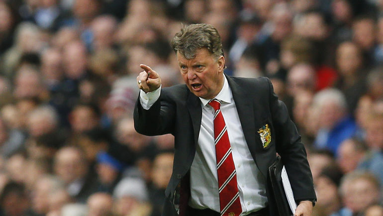 "Наставник ""Манчестер Юнайтед"" Луи ВАН ГАЛ. Фото Reuters"