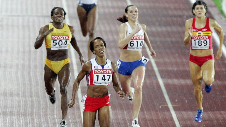 Татьяна АНДРИАНОВА  (№614)  будет бороться за свою медаль  десятилетней давности в CAS. Фото AFP