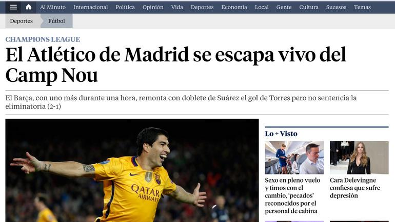 La Vanguardia.