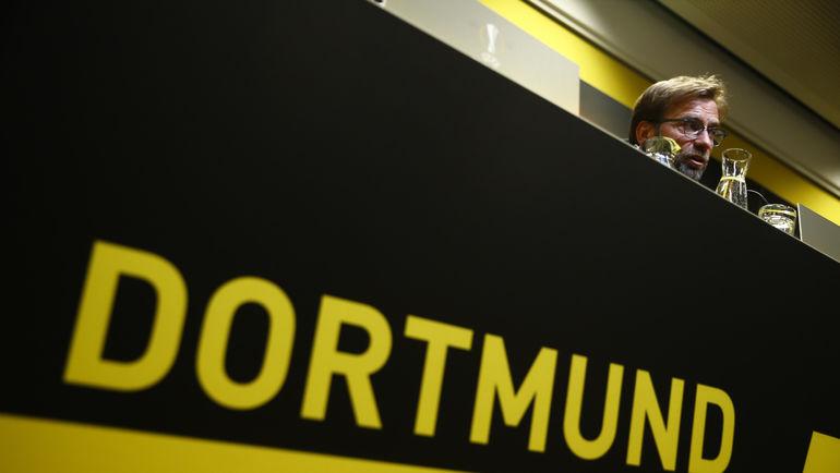 Вчера. Дортмунд. Юрген КЛОПП на пресс-конференции в Дортмунде. Фото REUTERS