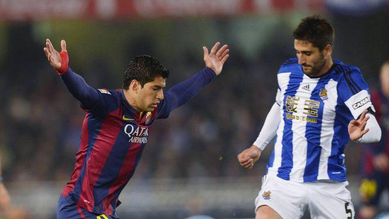 """""""Барселона"""" не может победить """"Реал Сосьедад"""" в гостях уже пять матчей. Фото Reuters"""