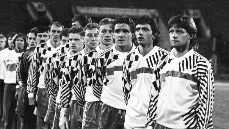 Не все участники отборочного турнира поехали на чемпионат мира-1994 в сборной Павла Садырина. Фото Александр ФЕДОРОВ, «СЭ»