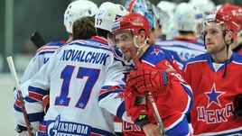 Павел ДАЦЮК (№ 13, с Ильей КОВАЛЬЧУКОМ) летом вернется в Россию.
