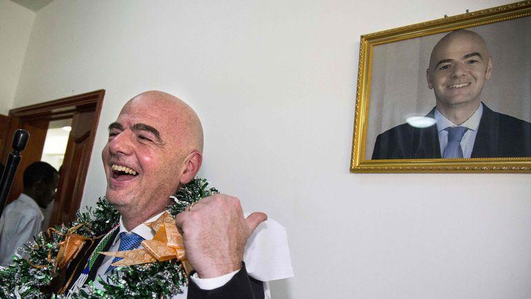 Джанни ИНФАНТИНО. Фото AFP