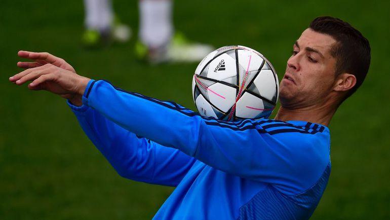 """Сегодня. Мадрид. Тренировка """"Реала"""". Криштиану РОНАЛДУ."""