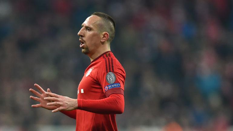 33-летний Франк РИБЕРИ подумывает о возвращении в сборную Франции. Фото AFP