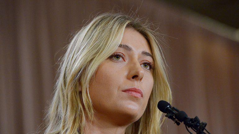 Мария ШАРАПОВА лично и одной из первых объявила об обнаружении в ее допинг-пробе запрещенного препарата. Фото Reuters