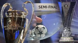 Жеребьевка Лиги чемпионов и Лиги Европы.