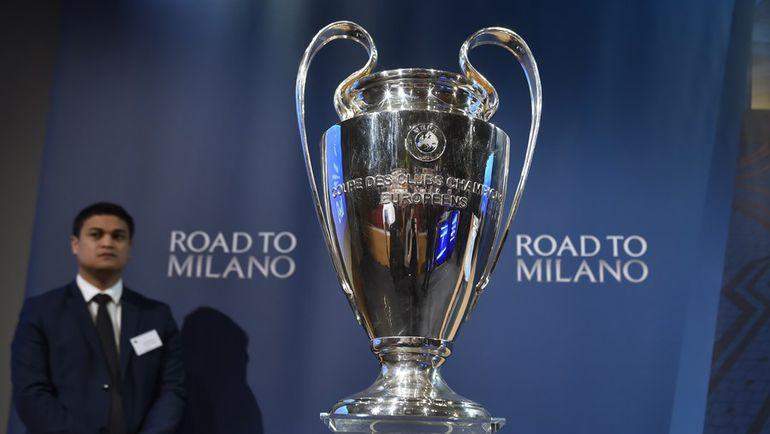 Сегодня. Ньон. Жеребьевка 1/2 финала Лиги чемпионов. Фото AFP