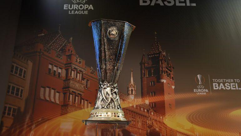Сегодня. Ньон. Жеребьевка 1/2 финала Лиги Европы. Фото AFP