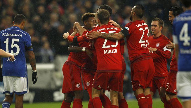 """""""Бавария"""" на всех парах мчится к чемпионству. Фото Reuters"""