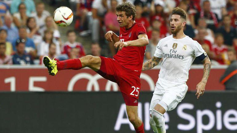 """Перед началом текущего сезона """"Бавария"""" и """"Реал"""" проводили товарищеский матч. Фото Reuters"""