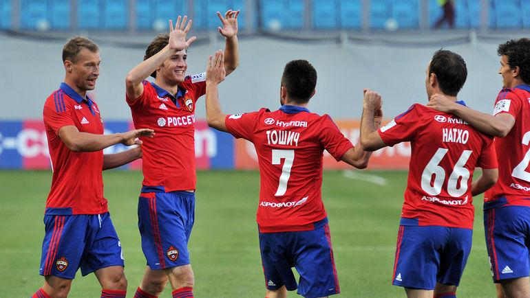Смогут ли российские клубы в субботу показать суперфутбол уровня еврокубков? Фото Александр ФЕДОРОВ, «СЭ»