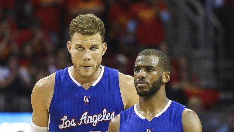 Блэйк ГРИФФИН и Крис ПОЛ: теперь весь Лос-Анджелес за них. Фото Reuters