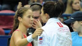 Дарья КАСАТКИНА и Анастасия МЫСКИНА.