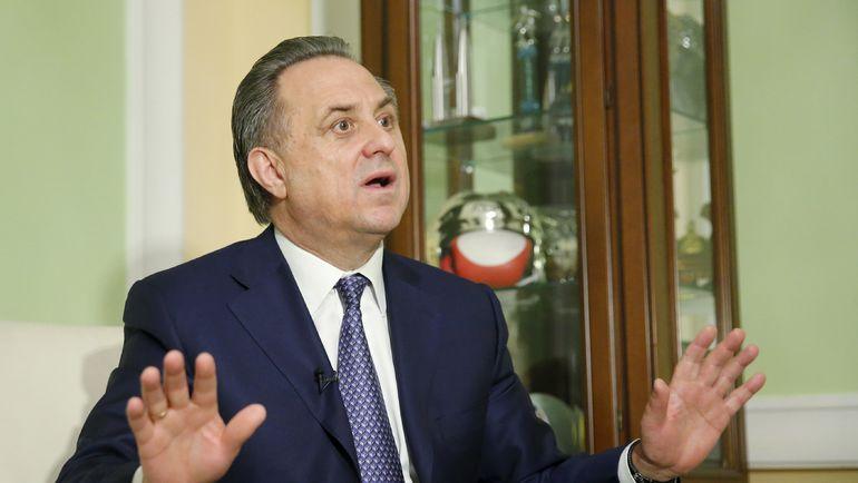 Министр спорта РФ Виталий МУТКО. Фото Reuters