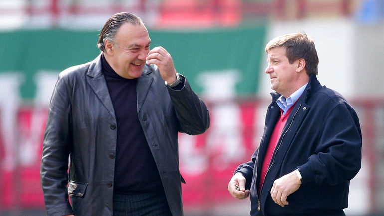 Александр ЯРДОШВИЛИ и Валерий ФИЛАТОВ. Фото Александр ФЕДОРОВ, «СЭ»