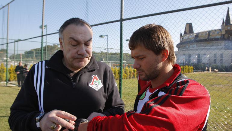 Александр ЯРДОШВИЛИ и Дмитрий СЫЧЕВ. Фото Александр ФЕДОРОВ, «СЭ»