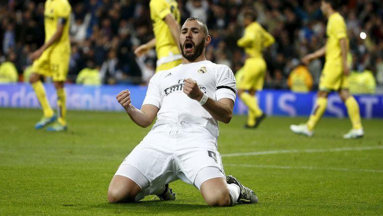 "Нападающий ""Реала"" Карим БЕНЗЕМА. Фото Reuters"