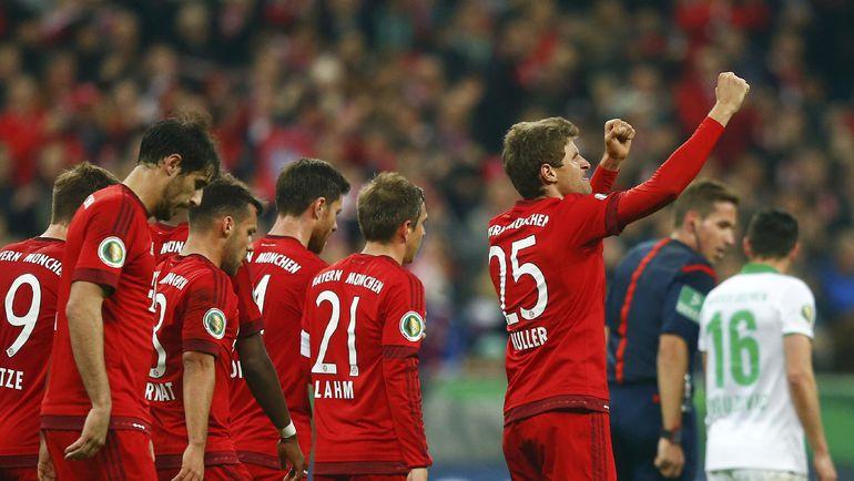 """В случае осечки """"Боруссии"""" """"Бавария"""" может досрочно стать чемпионом уже в эти выходные. Фото Reuters"""