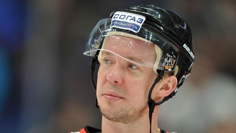 Не устал ли уже Сергей МОЗЯКИН от хоккея за этот сезон? Фото Александр ФЕДОРОВ, «СЭ»