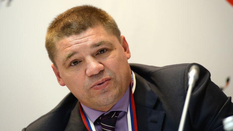 Глава профсоюза игроков КХЛ Андрей КОВАЛЕНКО. Фото photo.khl.ru