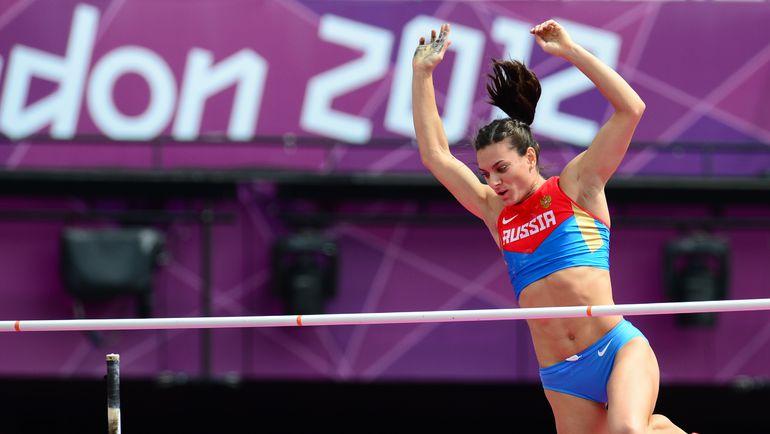 17 июня станет известно, смогут ли Елена ИСИНБАЕВА и другие российские легкоатлеты выступить на Олимпиаде-2015 в Рио-де-Жанейро. Фото AFP