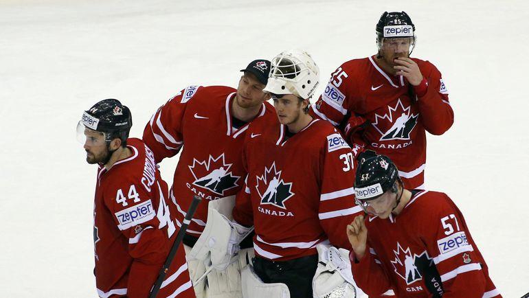 По прогнозам зарубежных экспертов, сборная Канады вновь должна дойти до финала чемпионата мира. Фото Reuters